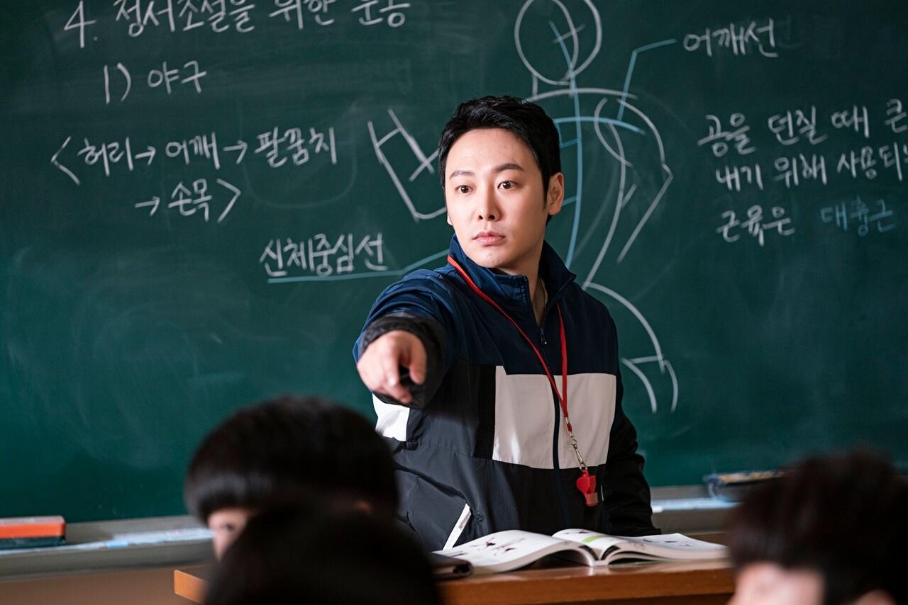 趙進甲過去為體育老師,沒想過轉行後會重遇學生。