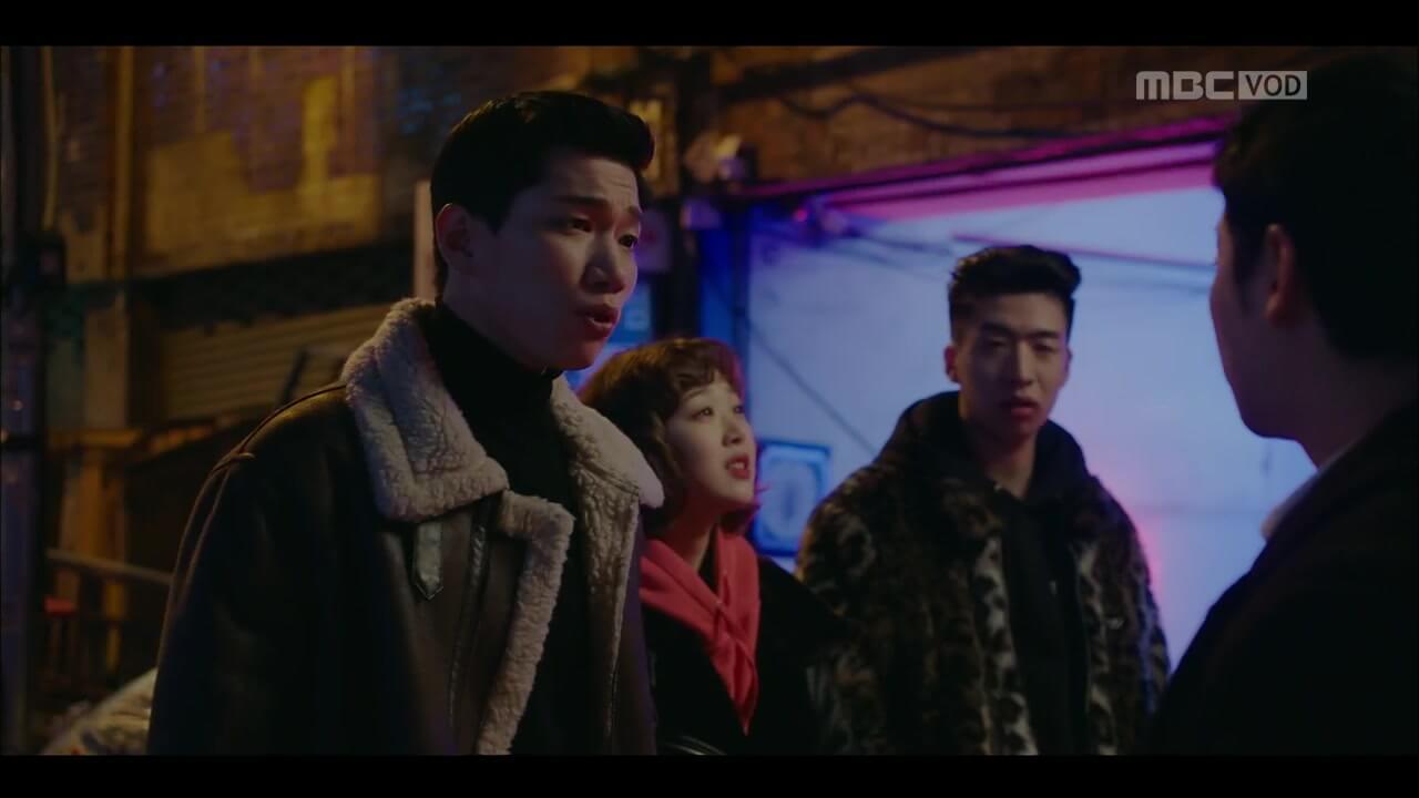 金景南飾演私人偵探社社長,協助趙進甲查案。
