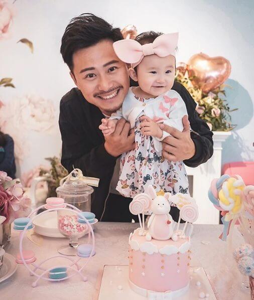 楊潮凱去年做了父親,他喜歡跟女兒相處多於花錢安排她入playgroup。