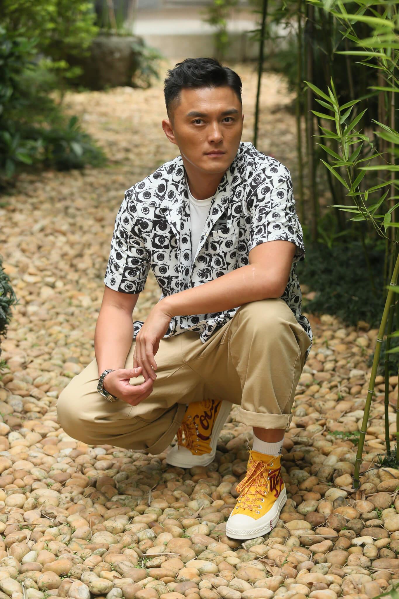 楊明慶幸生命中遇過低潮,令自己變得不一樣,現在總算是一個好人。