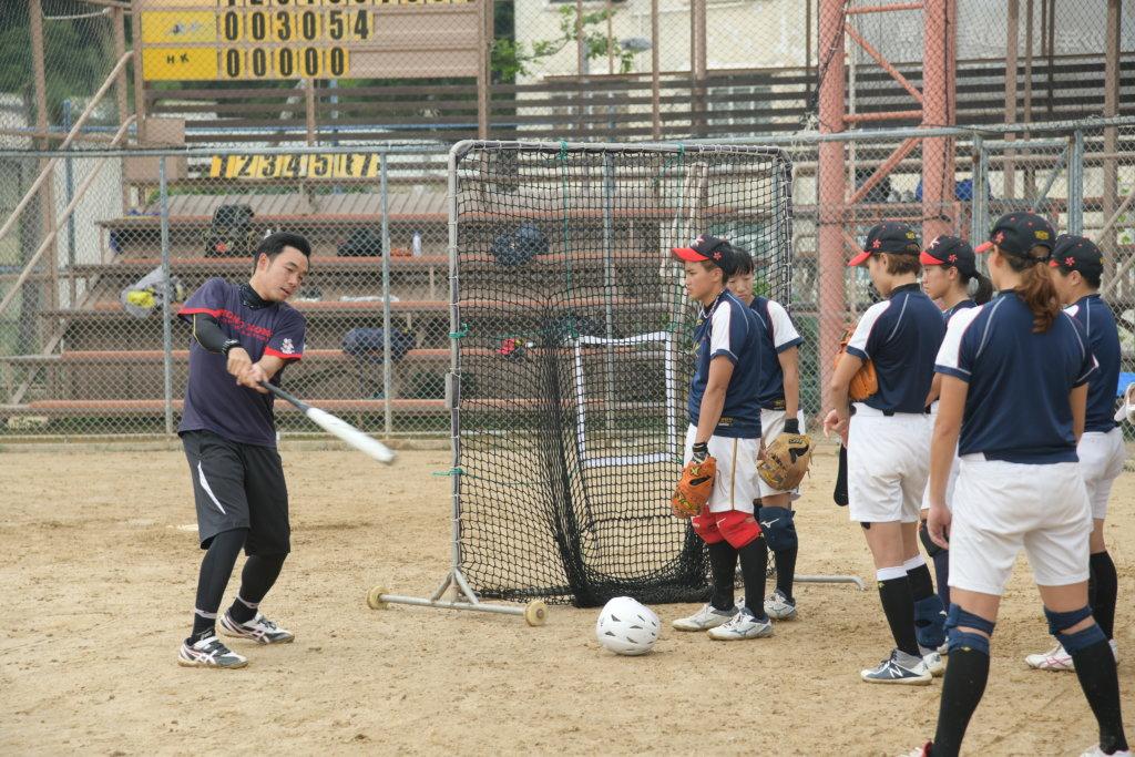 大島田過去九年帶領香港女子壘球邁進。