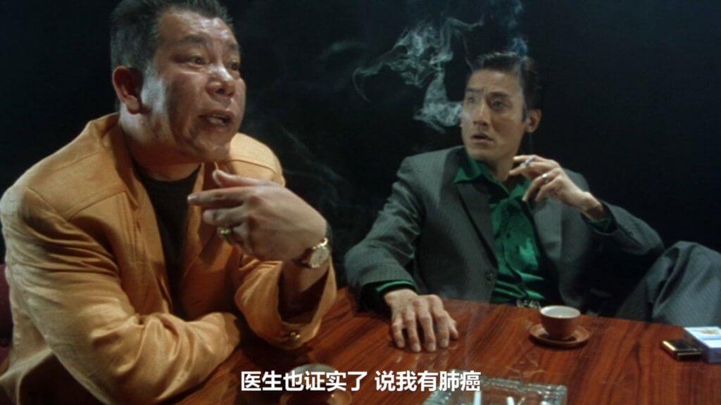 李兆基身為江湖人,生前拍了不少江湖片。