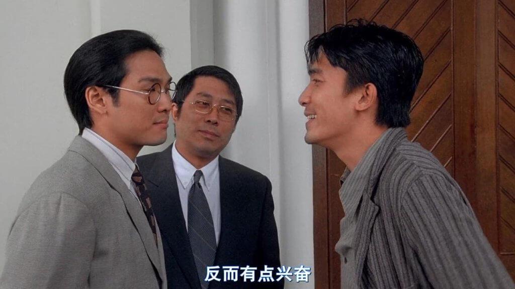 葉景文在電影《流氓醫生》中與梁朝偉及杜德偉有對手戲。