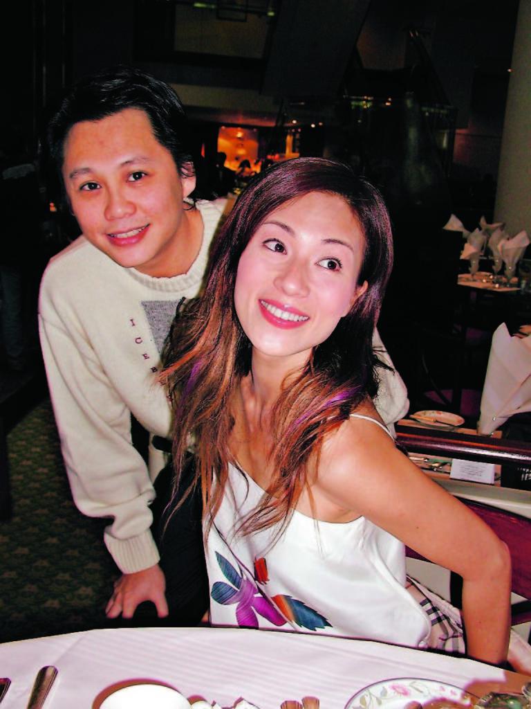 張可頤另一位前度,是兼任的經理人的音樂人陳容森。