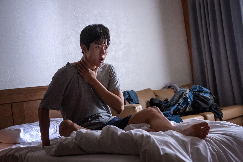 成烈在戲中有一段揮之不去的慘痛經歷,令他常常「發惡夢」。