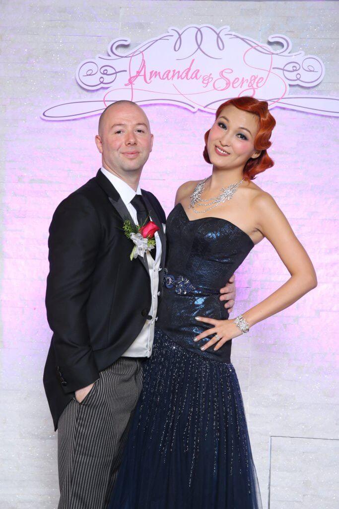 李蕙敏與Serge一三年結婚