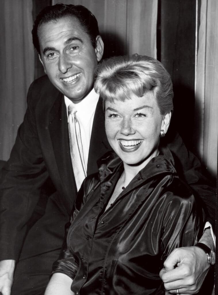 Doris Day Doris Day Doris Day et son mari Martin Melcher