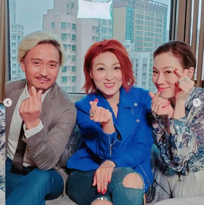 八月李蕙敏與張可頤、謝君豪合演舞台劇《但願人長久》