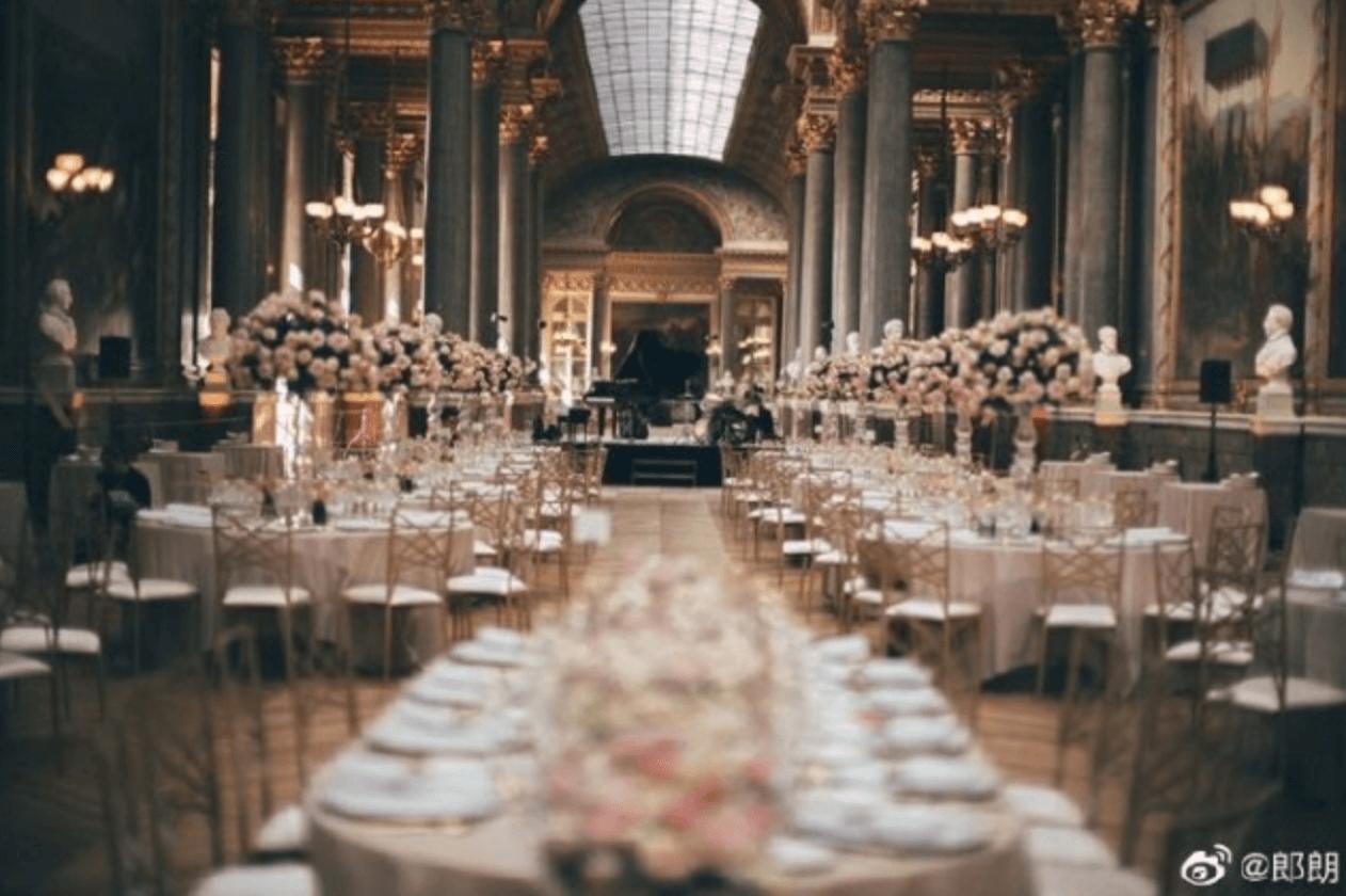 凡爾賽宮宴請親友
