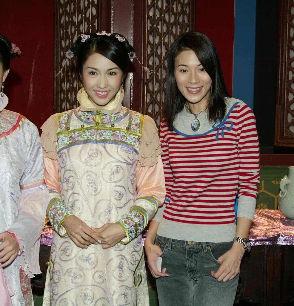 張可頤和黎姿一同拍《金枝慾孽》,她說友誼像同學仔。