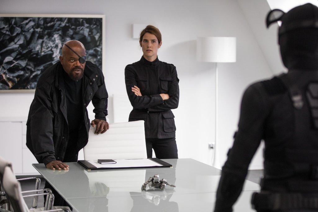 森姆積遜飾演的神盾局局長,要令蜘蛛俠歸隊。