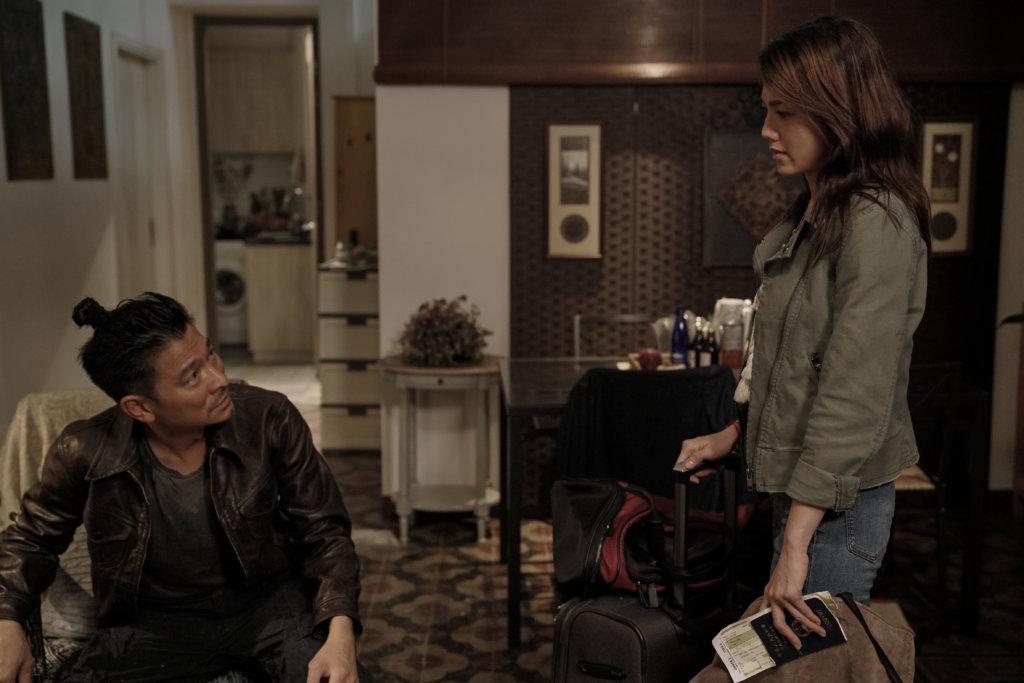 周秀娜飾演華仔前度女友,她稱只得一日戲,實在不夠喉。