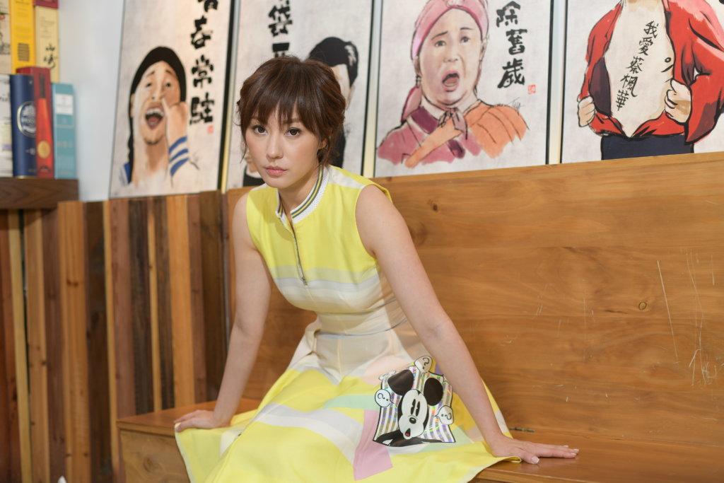 劉心悠經常四處拍戲,媽媽也會同行,她很享受兩母女相處時光。