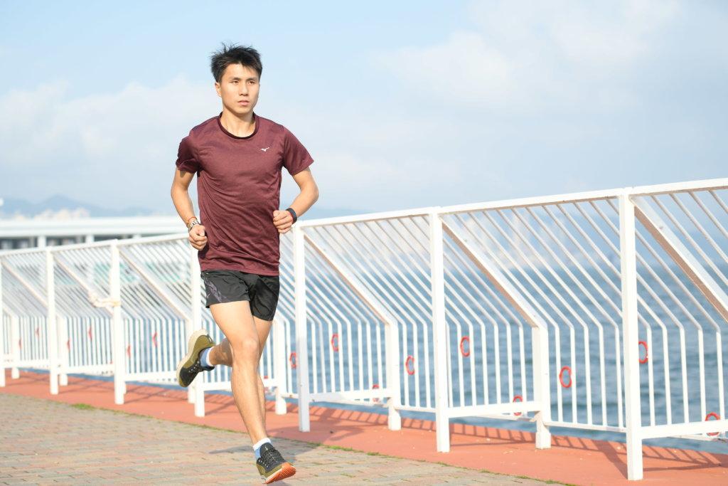 徐志堅幾乎每天都跑步,從跑步中感受到不同的樂趣。