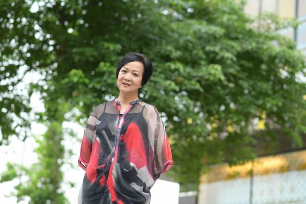 劉桂芳在無綫多年,今年轉合約成為兼職,她希望把握機會外闖。