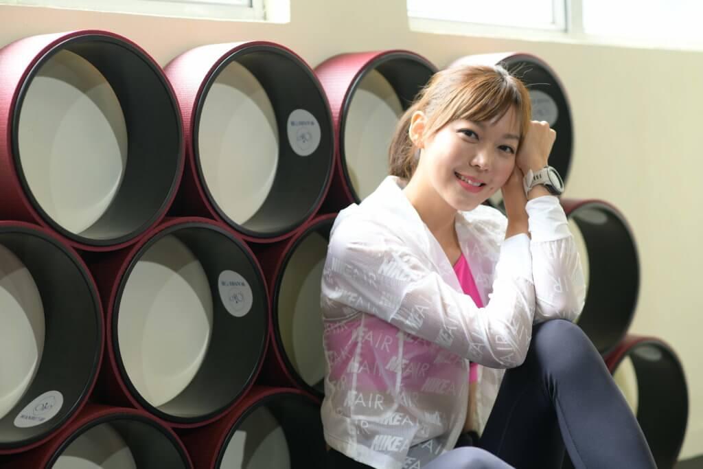 梁諾妍自言要不斷增值,更一口氣考了六個專業教練證書。