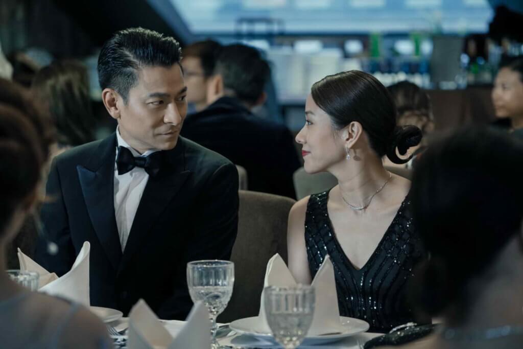 劉德華稱與林嘉欣合作後,才知道她演技這麼好。