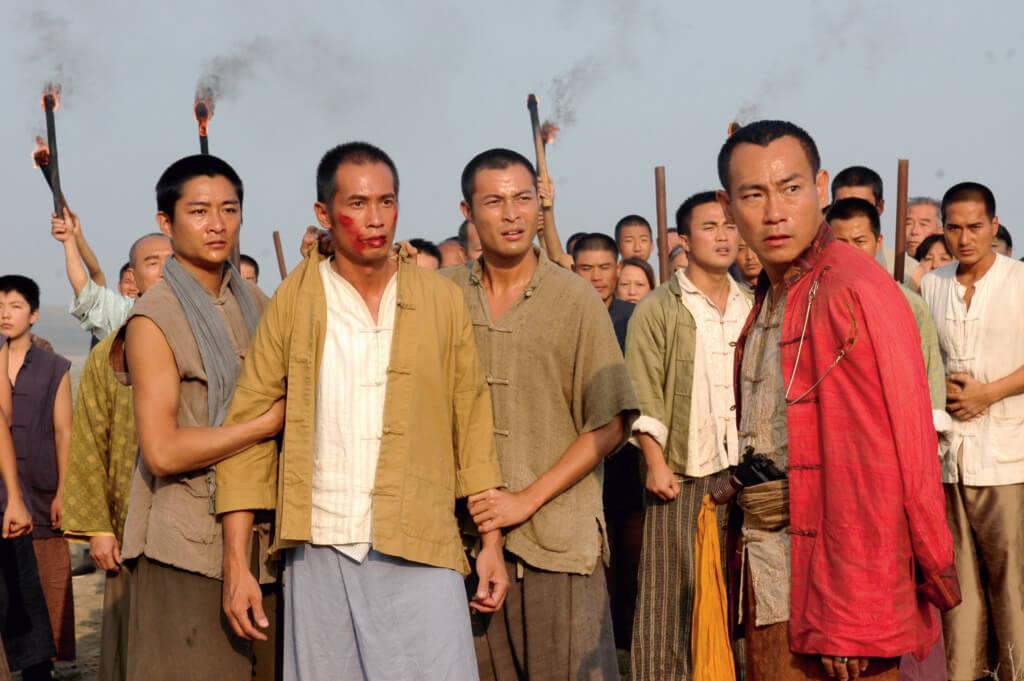《火舞黃沙》中,張達倫演陳豪「身邊的人」,不太多人留意他。
