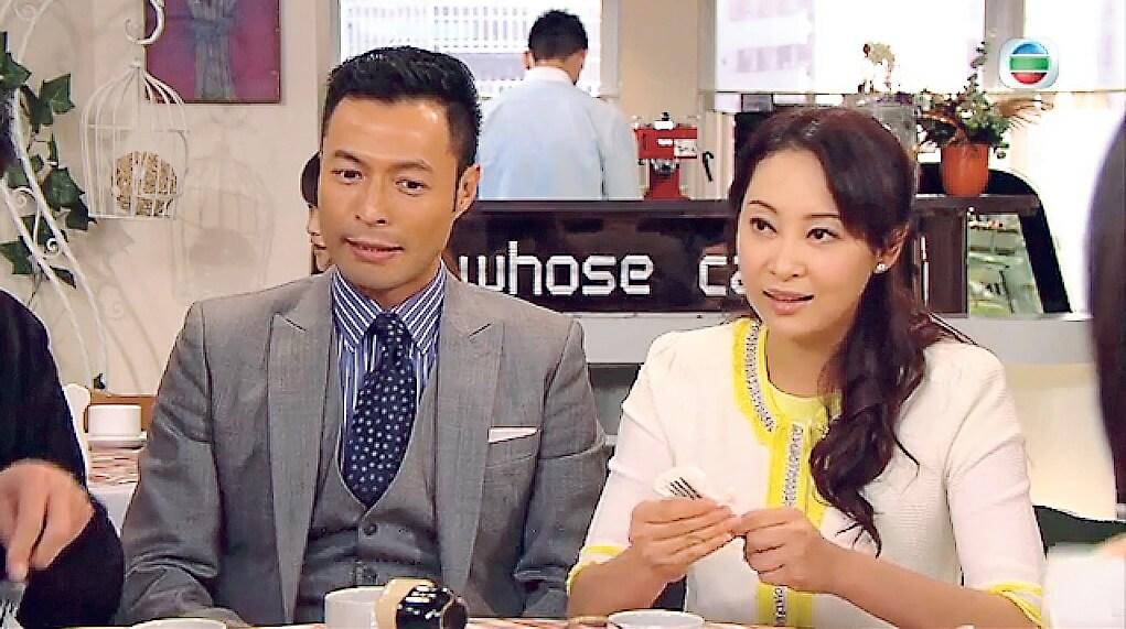 《愛‧回家》令觀眾認識演嚴謹律師的張達倫,劇中他與楊卓娜一對。