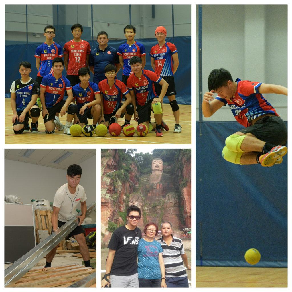 方子銘與隊友為「亞洲盃」積極備戰,希望爭取好成績。