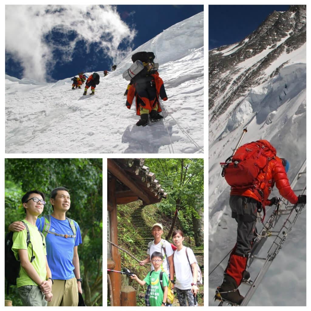 曾志成爬遍世界各地的高山,從爬山領略各種人生道理。