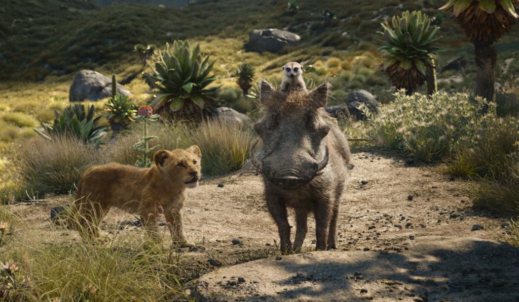疣豬彭彭與狐獴丁滿,仍然非常可愛出位。