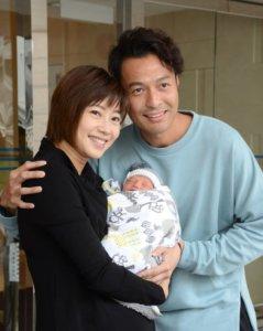 張達倫與太太Kimmy一七年誕下兒子碩碩