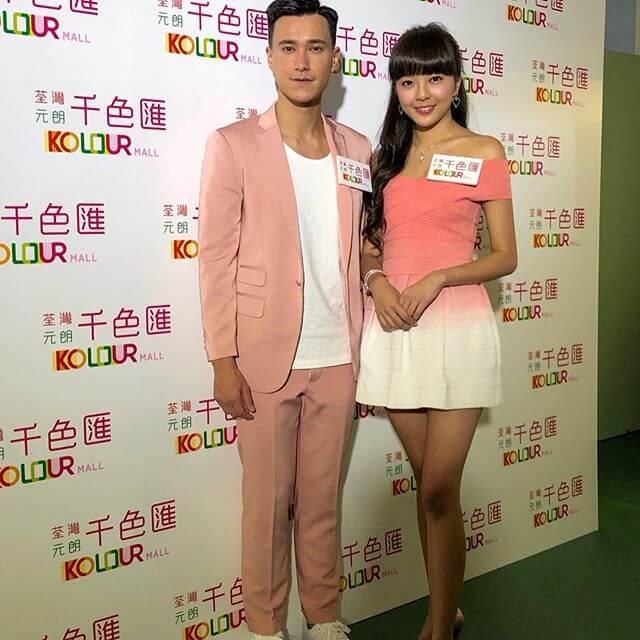 TVB早前安排他跟余思霆一齊出席活動,情侶檔搵真銀。