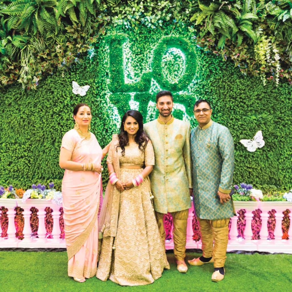 喬寶寶的大兒子在蘇格蘭一間法國IT公司做事,迎娶在大學時期認識的醫師女友Manjit。