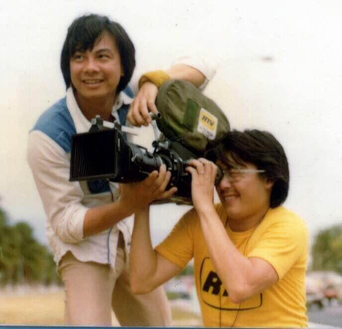 麗的電視年代到菲律賓拍外景,台前幕後相處融洽。