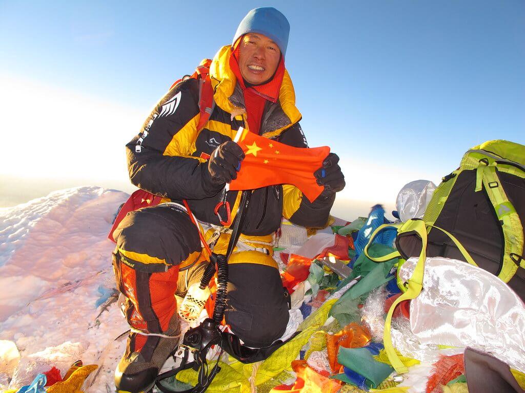 曾志成三度登上世界高峰
