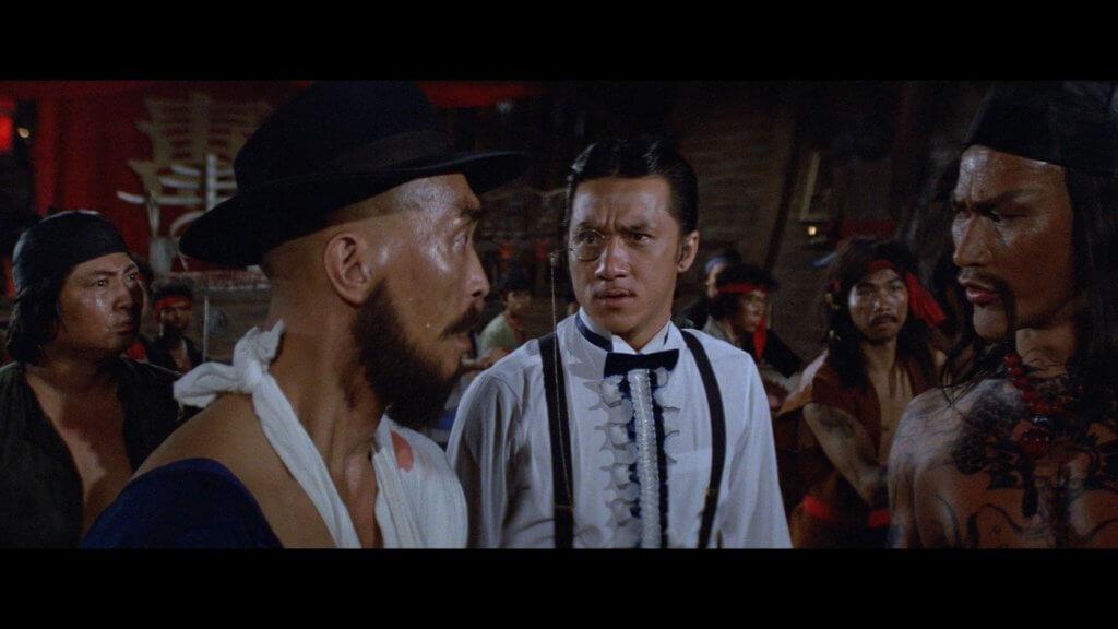 李海生曾在成龍的《A計劃》中飾演海盜李初九。