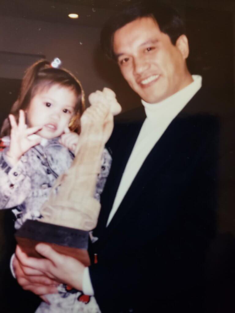 黃栢文患癌時,女兒才兩、三歲,他的目標是要看着女兒長大,女兒亦成為他抗癌的精神支柱。