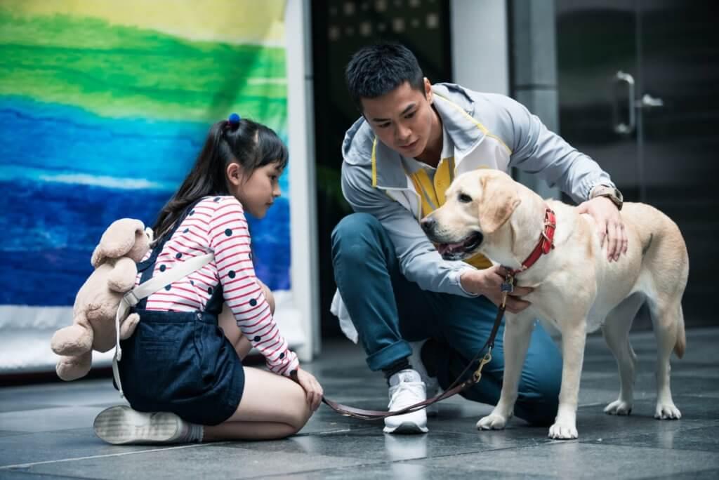 與狗狗拍電影,羅仲謙稱十分困難,有時會NG數十次。