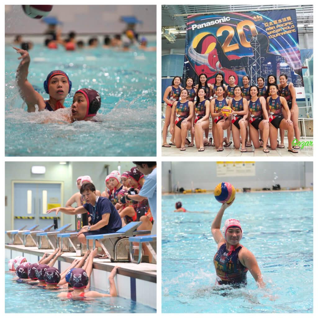 香港女子水球隊努力向前
