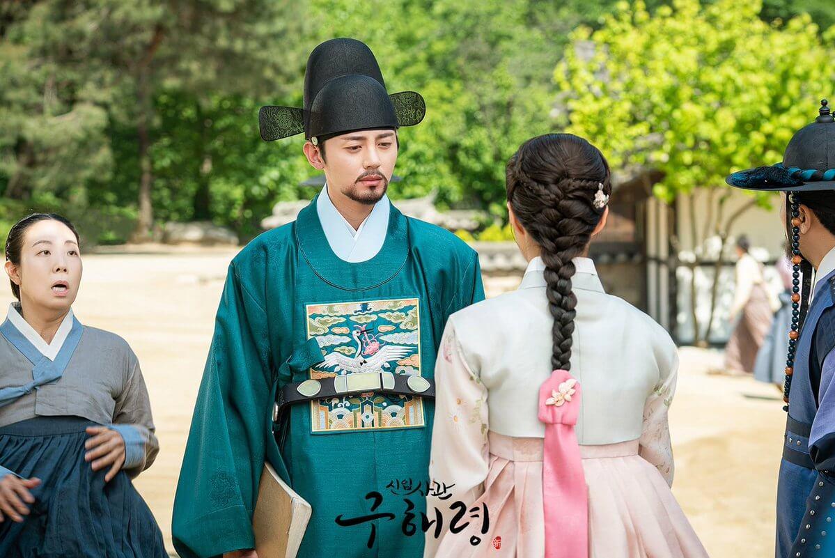 李知勛在新劇飾演史官閔宇源,他將跟奸臣父親對抗。