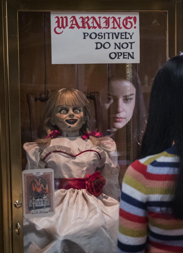 《詭娃安娜貝爾:回家》是《詭娃》系列第三部曲