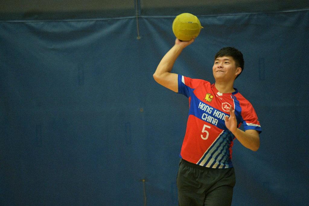 方子銘是香港閃避球隊的主力
