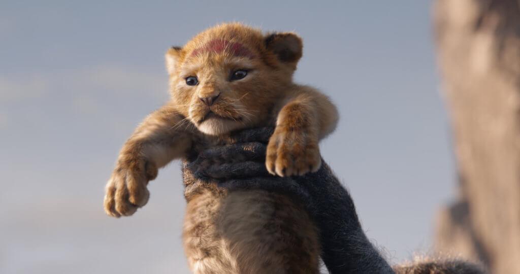 新版的小獅辛巴,萌爆可愛。