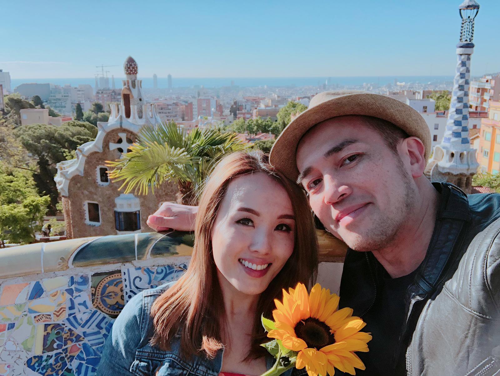楊洛婷表示親自打電話到唱片公司要求放人,因老公已忙足一年未有放假。