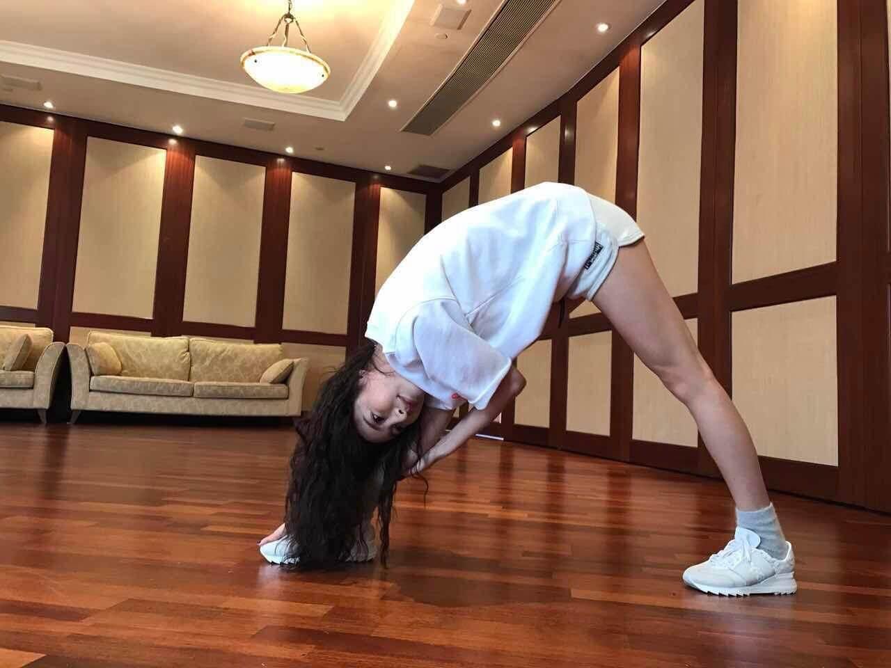 休息期間,除了調理身體外,更會做gym及跳舞。