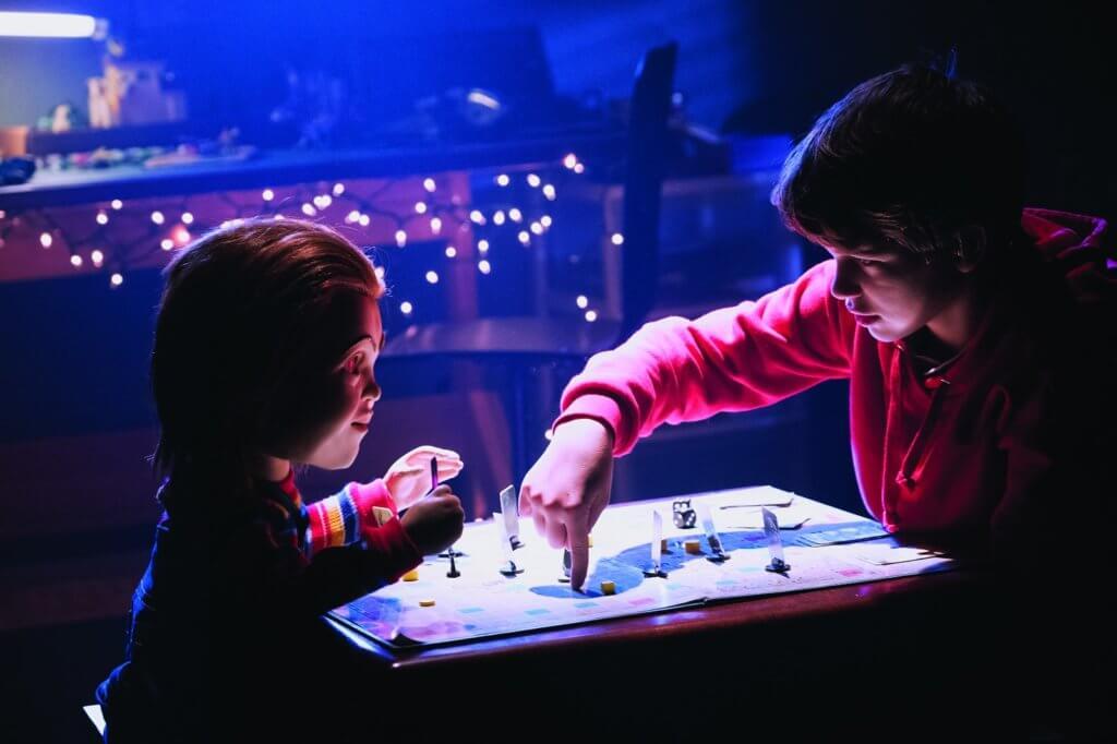 新版卓奇本來是智能機械玩具,是主角Andy的好玩伴。
