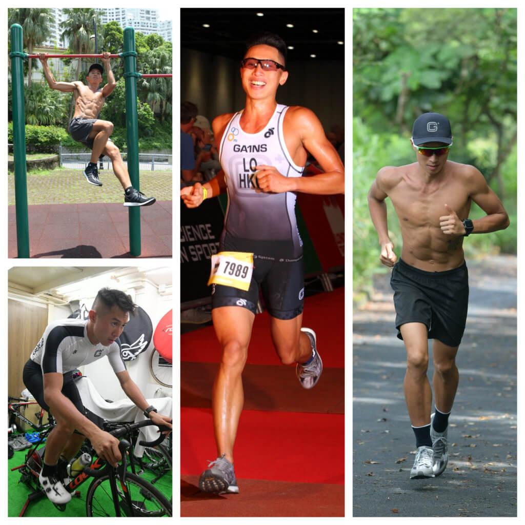 勞証顯從小在柴灣成長,繞著歌連臣角跑山是他日常訓練項目之一。