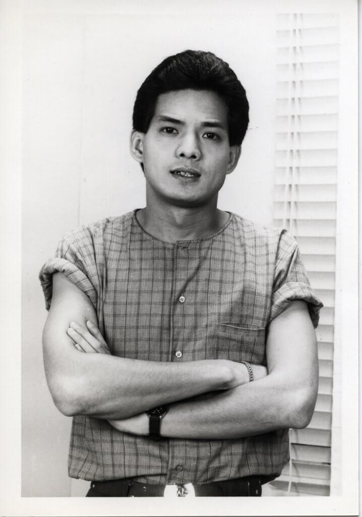 李國麟七四年加入無綫,早期時常演飛仔角色。