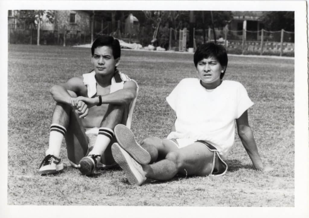 在勵志劇《奔向太陽》,劉德華演跑手,李國麟是羽毛球運動員。
