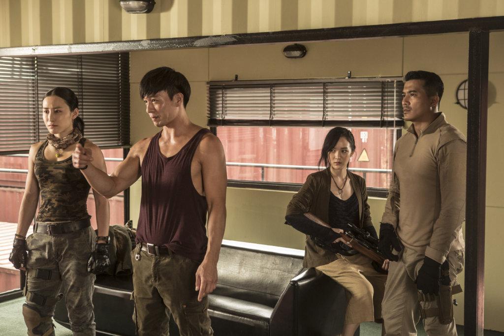 經常演奸角的安志杰,在新戲《潛行者》中飾演走私大王。
