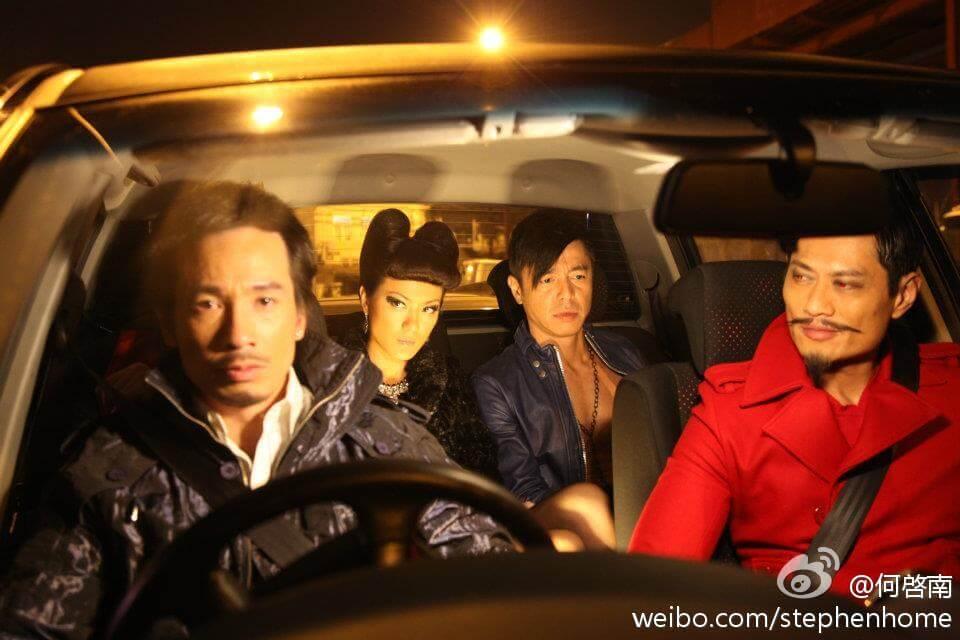 何啟南與黃德斌、簡慕華飾演陳豪的心魔,演技一大挑戰。