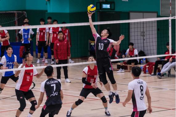 本身是香港排球代表隊的Ian,稍後有機會拍一齣有關排球電影。