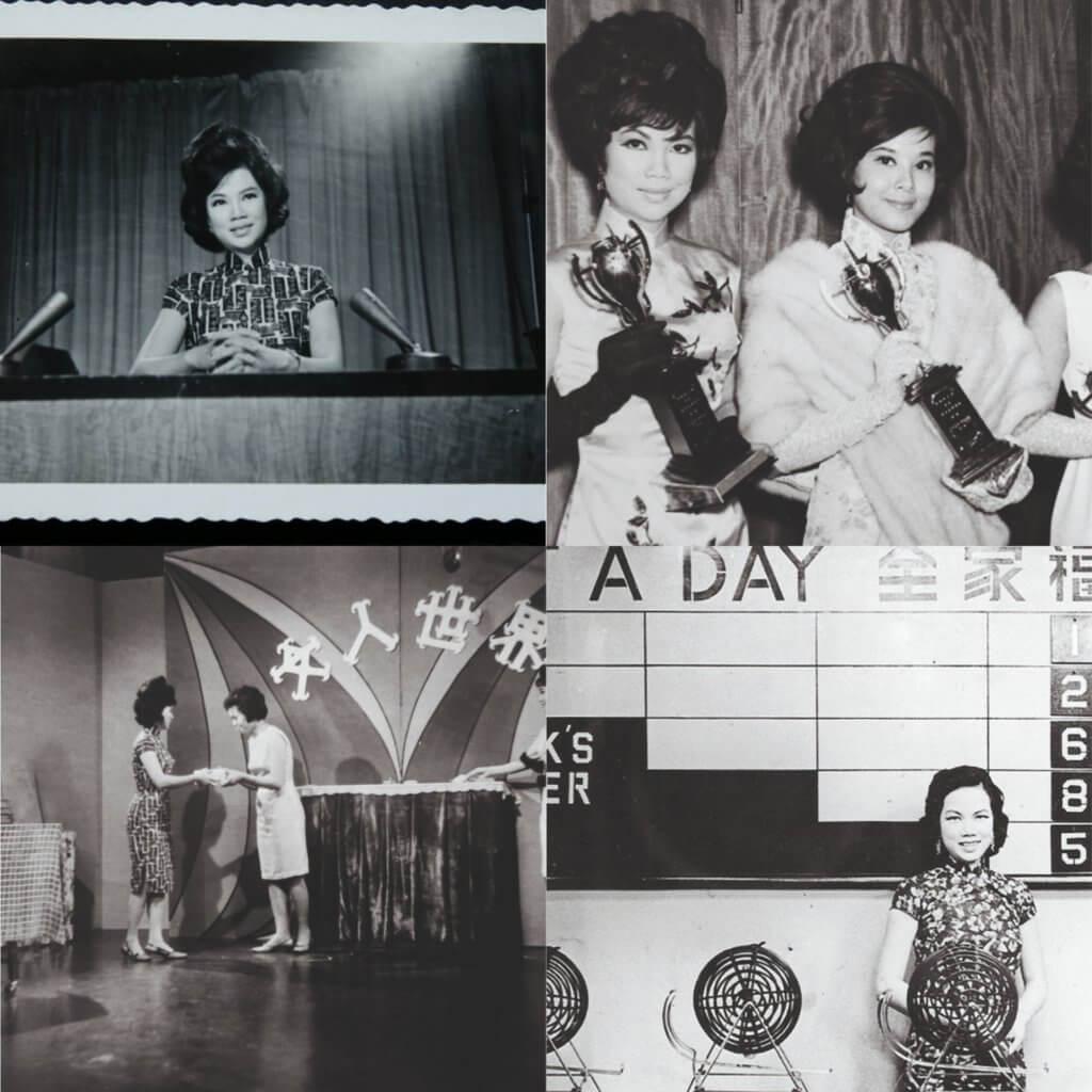 Lily姐一九五八年主持香港首個電視遊戲節目《全家福》 ,Lily姐與黎婉玲、龐碧雲是當年著名的「麗的三花」;