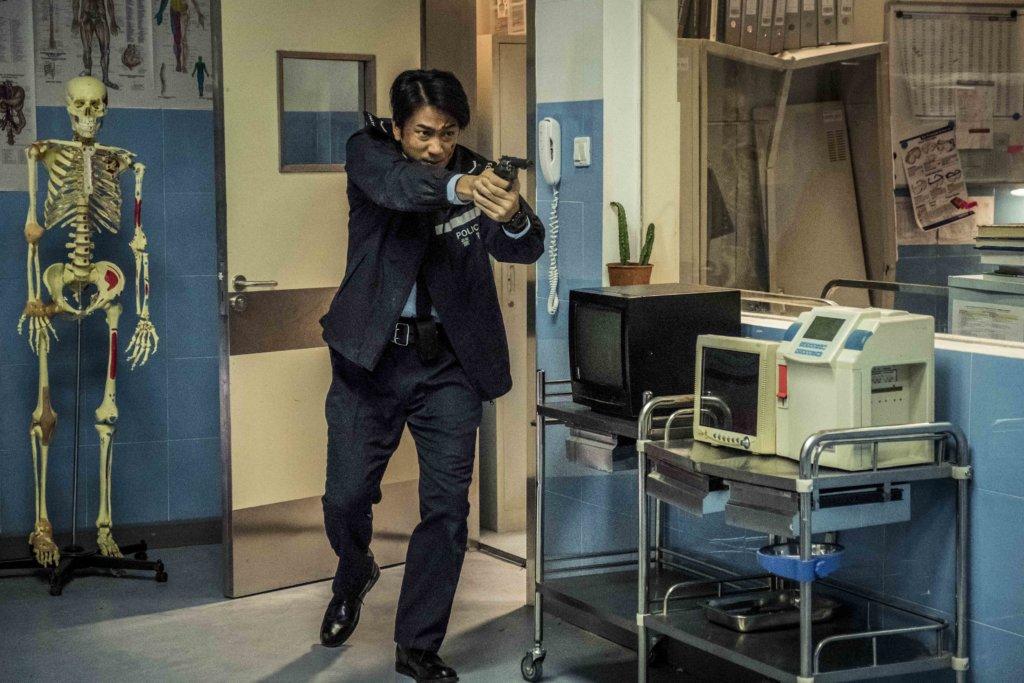 擅演警員的吳卓羲,今次由衝動派變成智慧型警察。